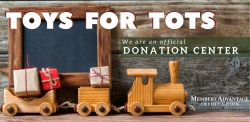 Toys for Tots Donation Center