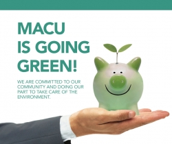 MACU is going green