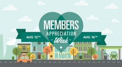 Member Appreciation Week 2018: July 30 - August 3rd